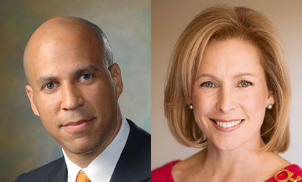 KIRSTEN GILL AND CORY BOOKER