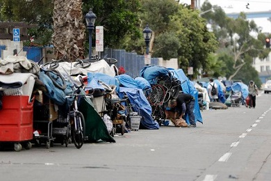 CALIFORNIA HOMELESS CAMPS
