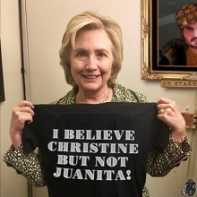 HILLARY AND BELIEVE ALL WOMEN
