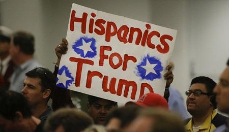 HISPANIC VOTERS AND TRUMP