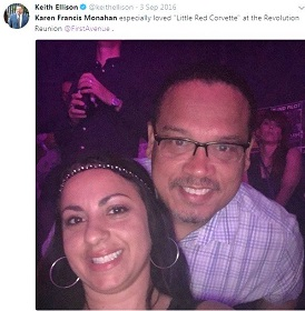 KAREN MONAHAN AND KEITH ELLISON