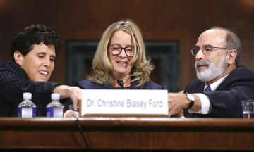 Christine Blasey Ford Testifies During Supreme Court Nominee Brett Kavanaugh Confirmation Hearing