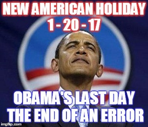 OBAMA LAST DAY IN OFFICE