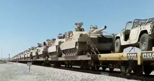 TRAIN AND TANKS
