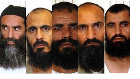 BOWE BERGDAHL AND TERRORISTS EXCHANGED