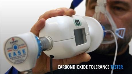 CARBON DIOXIDE TOLERANCE TESTER