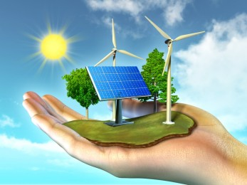 GREEN ENERGY AND SOLAR AND WIND