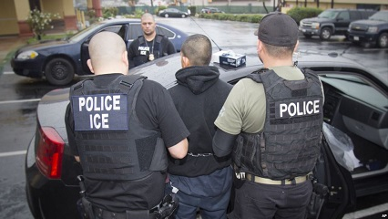 IMMIGRATION AND ILLEGALS AND ICE