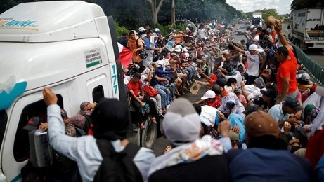 MIGRANTS AND CARAVAN AND CRIMINALS