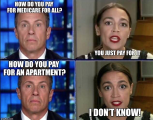 OCASIO CORTEZ AND LEFTIST AND SOCIALIST