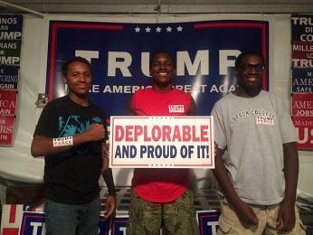 TRUMP AND BLACK VOTERS