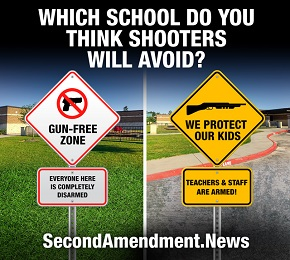GUN FREE ZONES AND SCHOOLS