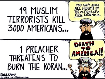 MUSLIMS AND ISLAM AND TERRORISTS