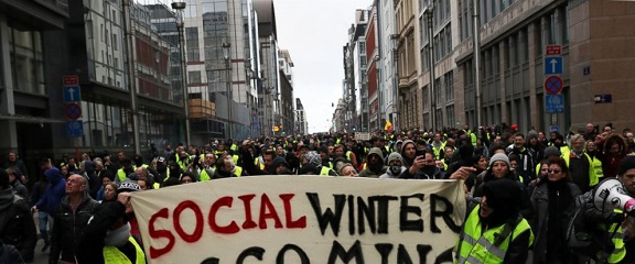 YELLOW VESTS BRUSSELS