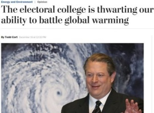 AL GORE AND GLOBAL WARMING AND CLIMATE CHANGE