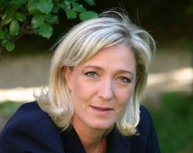 MARINE LE PEN FRENCH CONSERVATIVE
