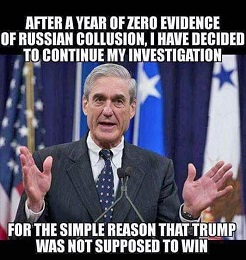 MUELLER AND INVESTIGATION AND TRUMP AND HILLARY