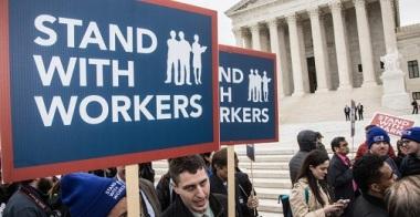 Supreme Court Hears Janus v. AFSCME, A Major Test for Organized Labor  (Feb. 26, 2018)