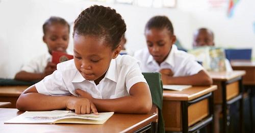 black children school and liberals and democrat party