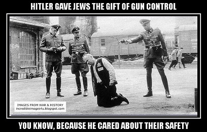 hitler and gun control and jews