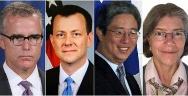 mccaba and strzok and ohr and ohr