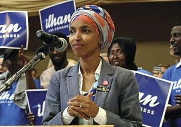 omar racist and anti semite and rep and muslim