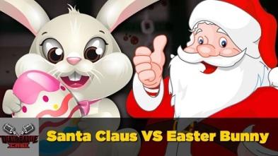 santa vs easter bunny