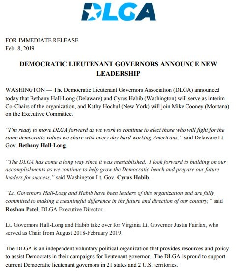 FAIRFAX OUT OF DEM LEADERSHIP