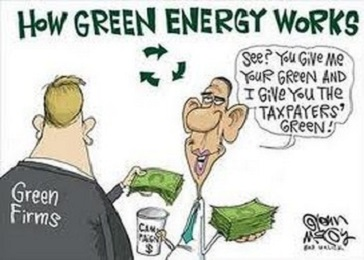 GREEN ENERGY AND CLIMATE CHANGE AND OBAMA AND FRAUD
