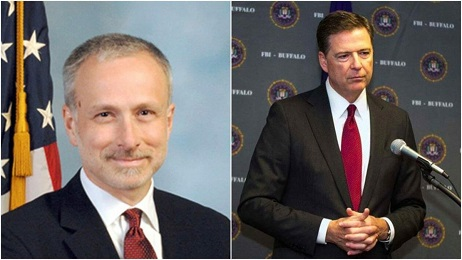 JAMES BAKER AND JAMES COMEY
