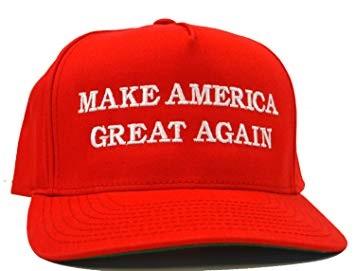 MAGA HAT AND TRUMP
