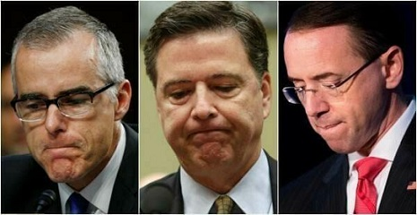 MCCABE AND COMEY AND ROSENSTEIN