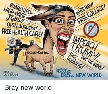 OCASIO CORTEZ AND IMPEACH TRUMP