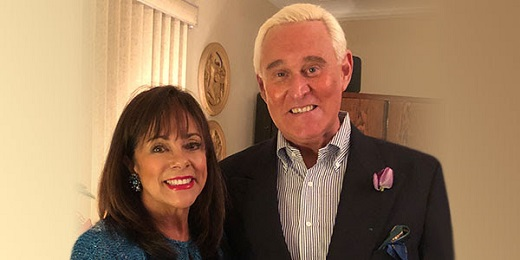 ROGER STONE AND WIFE