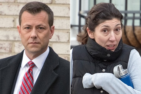 STRZOK AND LISA PAGE