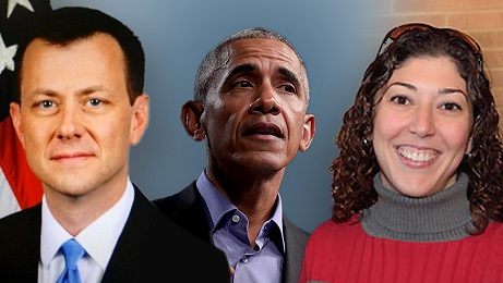 STRZOK AND OBAMA AND PAGE