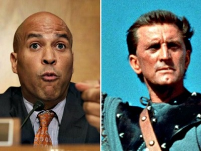 CORY BOOKER AND SPARTACUS 1