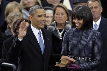 obama oath of office innauguration