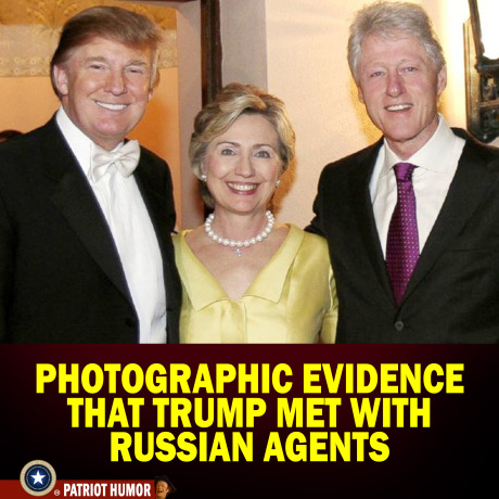 TRUMP AND THE CLINTONS AND RUSSIAN AGENTS